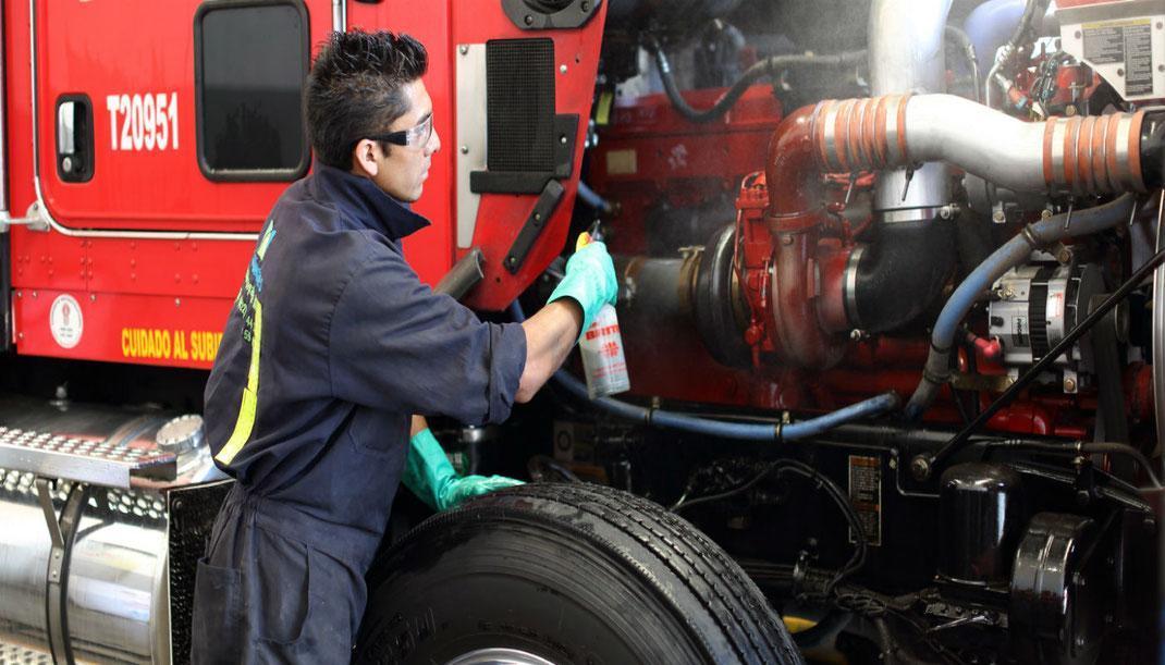 Lista de mantenimiento preventivo de camiones