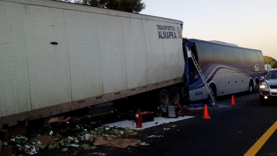 6 Riesgos y peligros en el transporte de carga terrestre