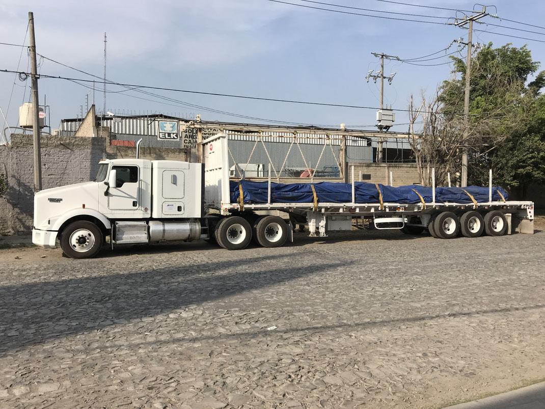 Ventaja del Flete Transporte en Plataforma Mexico
