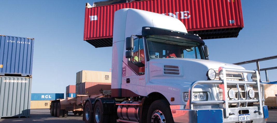 ¿Que es el transporte internacional de carga pesada?