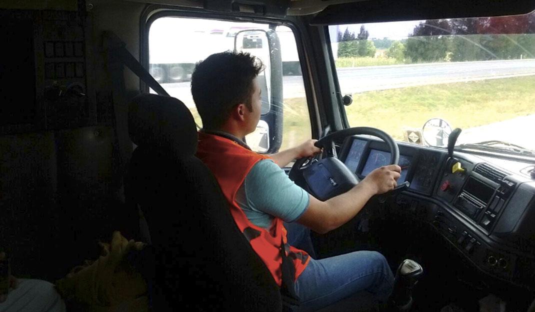 ¿Que tipo de licencia se necesita para conducir transporte privado de carga?