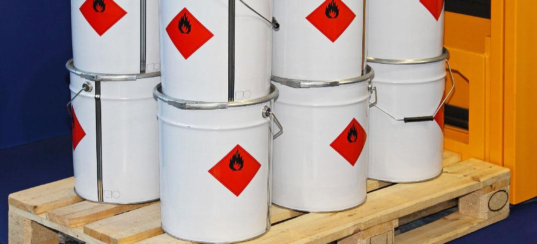 Clasificación IMO clase explosivos mercancía peligrosa