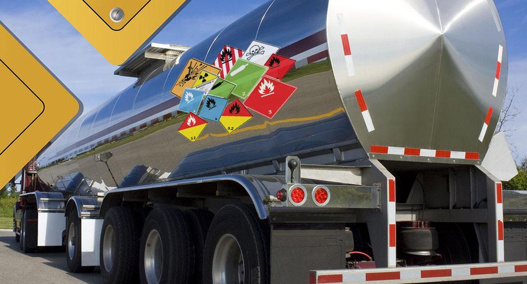 ¿Qué es Transportes de mercancías peligrosas?