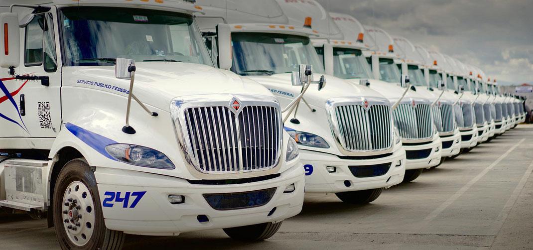 12 Tipos de camiones de carga terrestre en Mexico