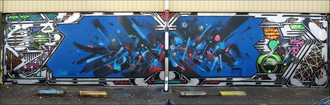 graffiti, post graffiti, Scaner, Scanr, Darwin, Bordeaux, Parcours, 3020, graffeur, histoire, expo