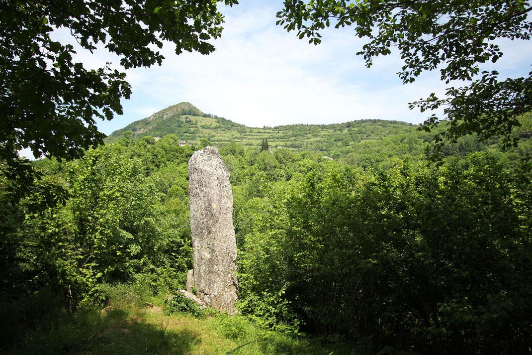 Menhir de Counozouls - Pyrénées Audoises