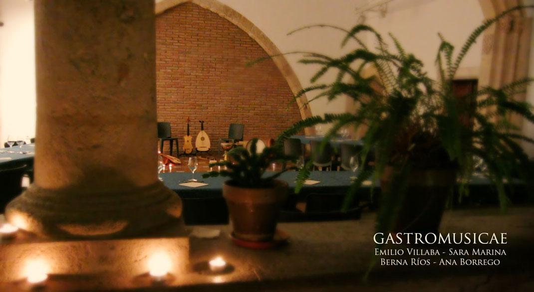 El Gastromusicae se celebra en uno de los patios interiores del Antiguo Ayuntamiento de Tarragona, edificio histórico de origen medieval.