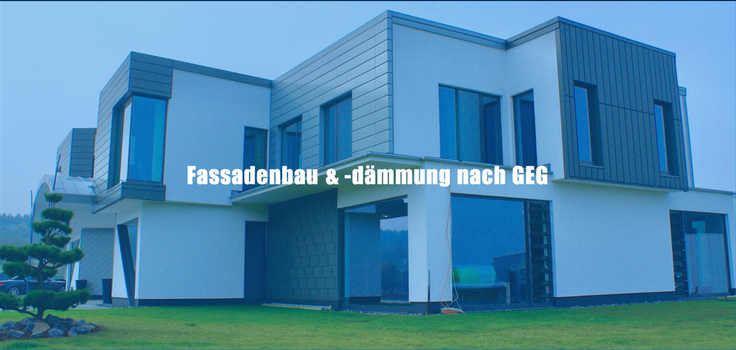 Fassadenbau und Wärmedämmung nach EnEV