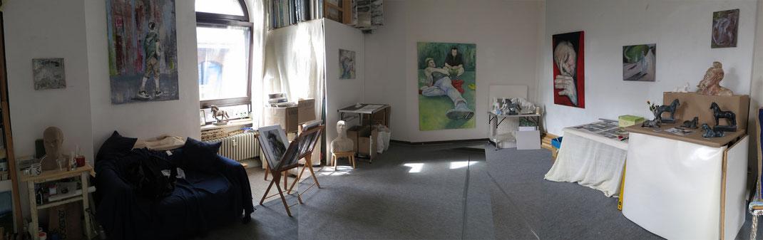Atelieransicht am Tag der Bildenden Künste 2014