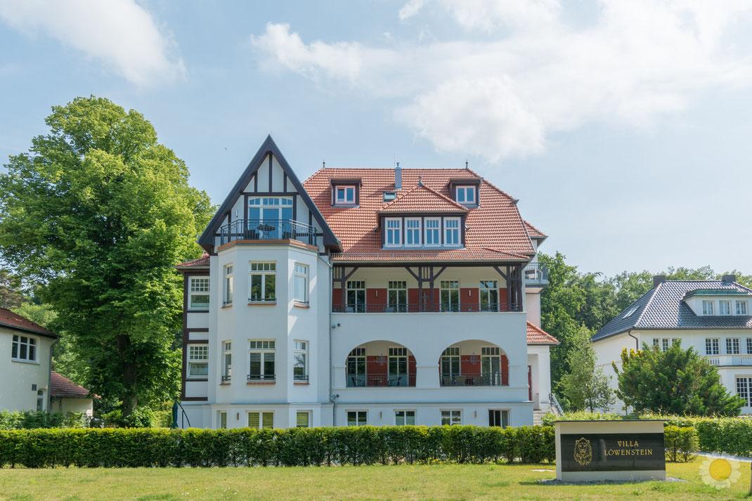Außenansicht Villa Löwenstein Ostseebad Kühlungsborn Foto Ferienanlage