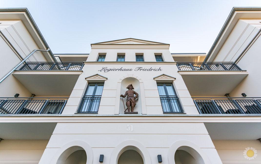 Außenaufnahme Ferienimmobilie Logierhaus Friedrich in Zingst Ostsee