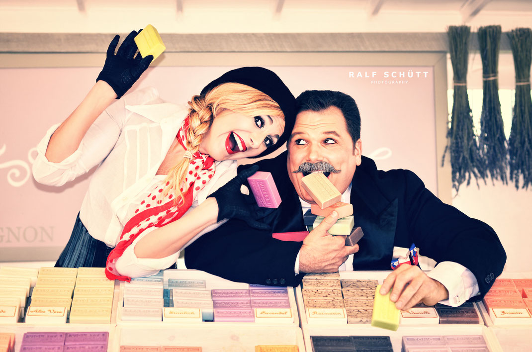 Laure Bontaz & Gregory Bellini © Ralf Schütt Photography