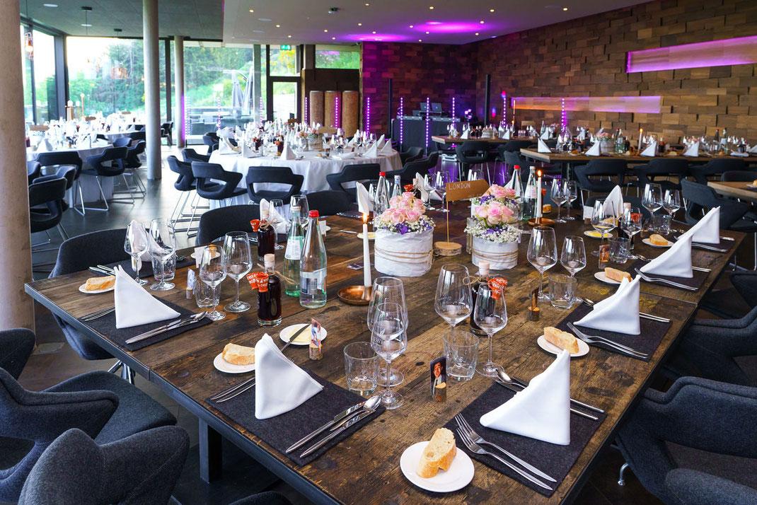 Hochzeit feiern im Sporthotel Leweck Luxemburg