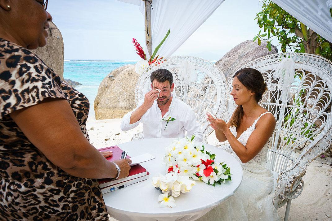 Hochzeitsfotos Seychellen