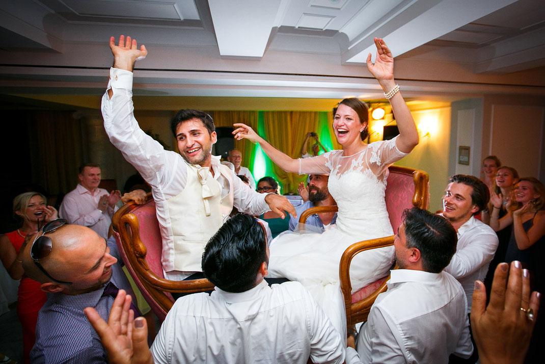 Hochzeit feiern in Italien