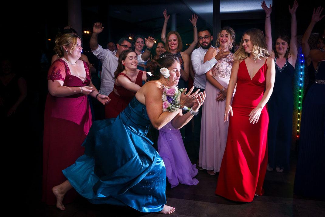 Brautstraußwurf Hochzeit Luxemburg