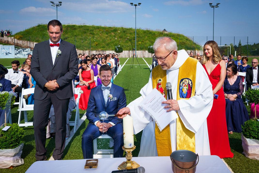 Emotionale Hochzeitszeremonie in Lipperscheid Luxemburg
