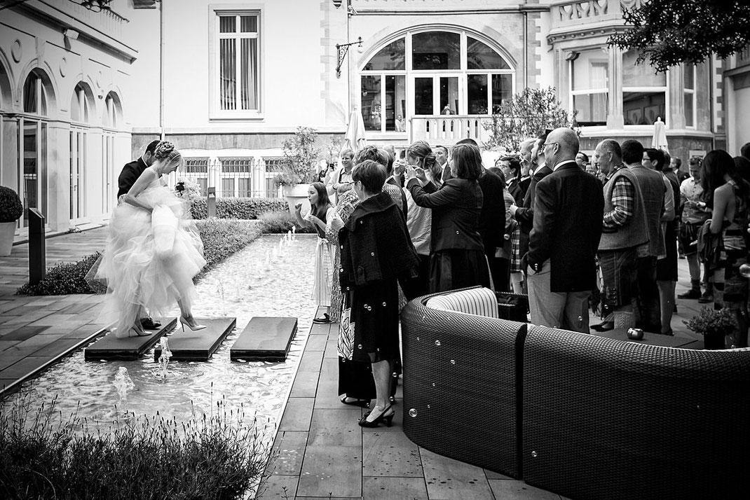 Hochzeitsfeier Villa Kennedy