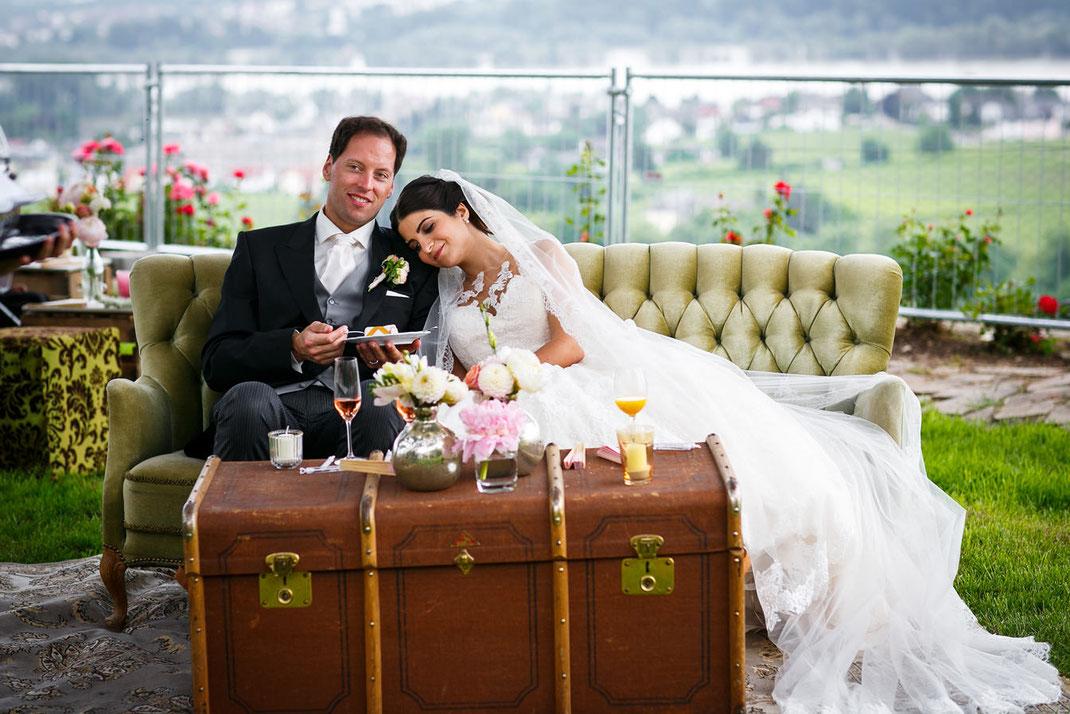 Hochzeit feiern im Schloss Johannisberg