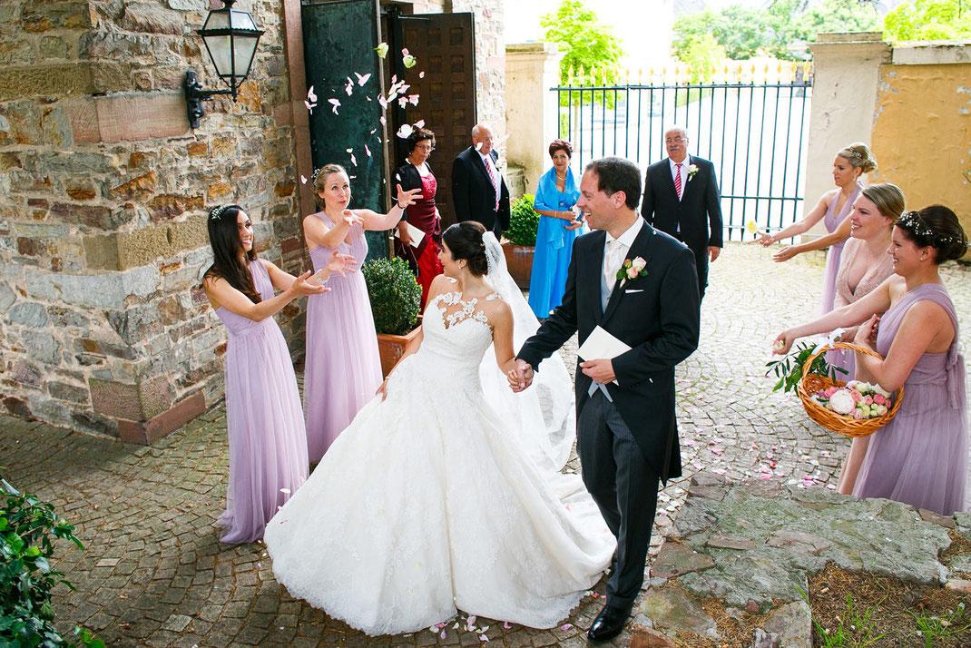 Hochzeitsfotos Basilika Rheingau