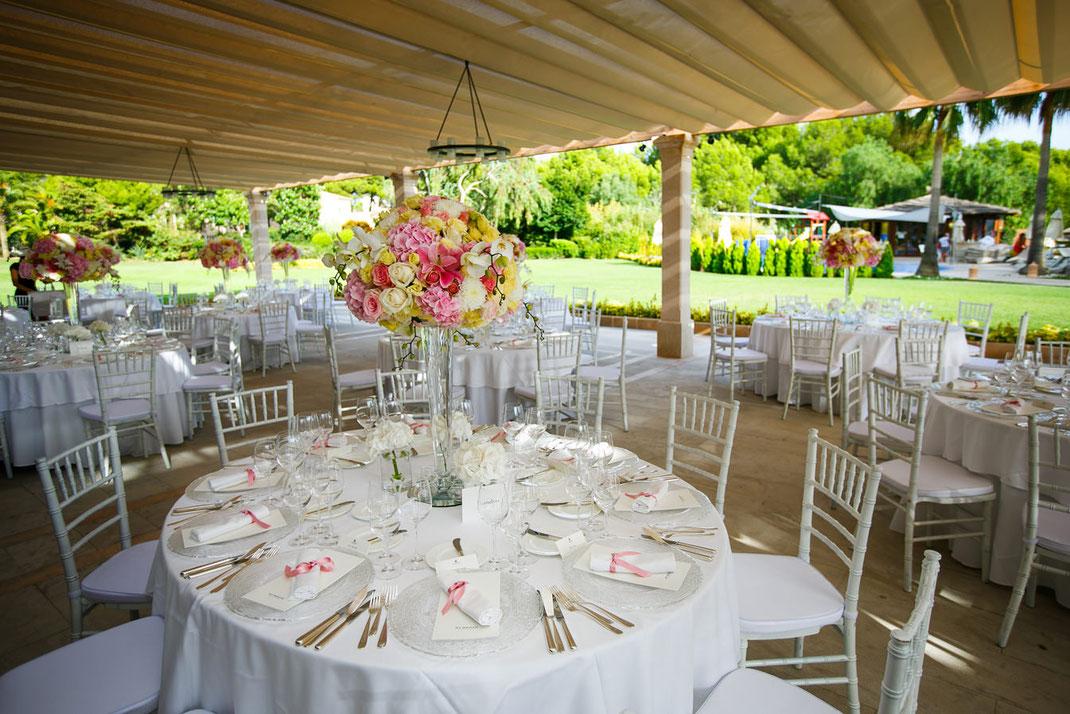 Hochzeitsfeier St. Regis Mardavall