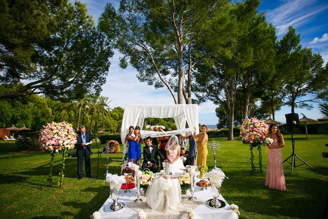 Hochzeitsfotos Costa d'en Blanes