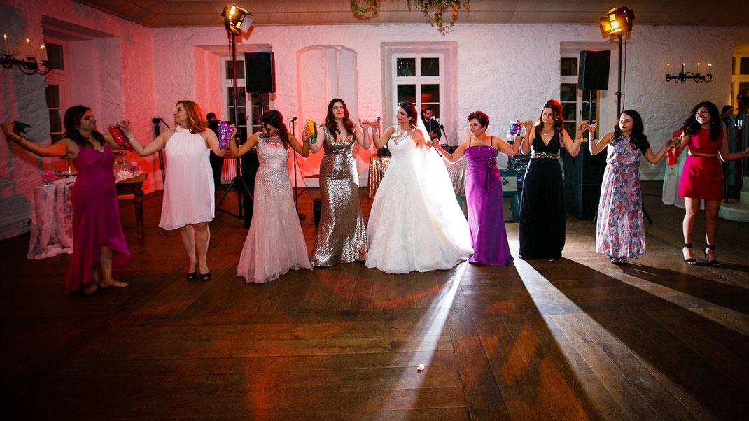 Hochzeitsfeier Schloss Johannisberg