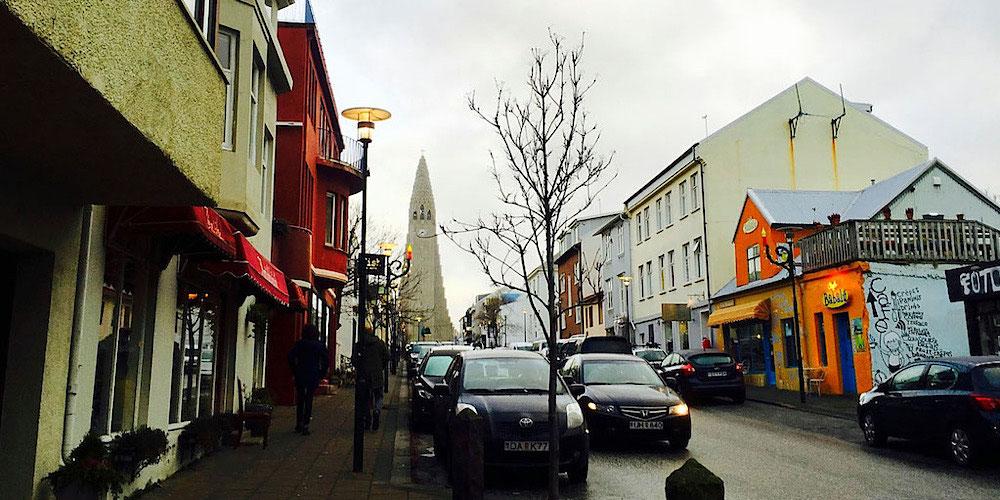 city view Reykjavik