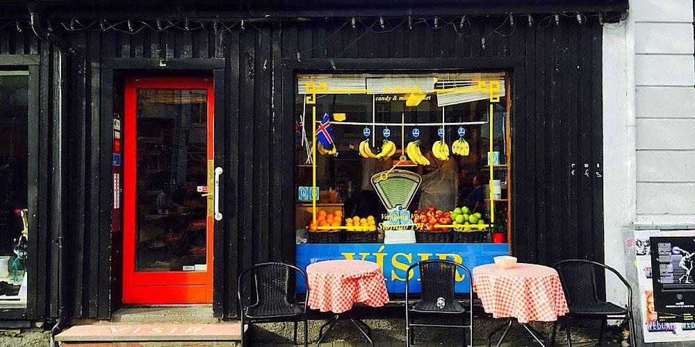 grocery shop reykjavik iceland