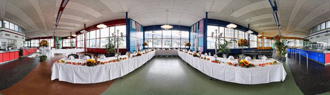 Ein letztes Ma(h)l im altehrwürdigen Schindler Pavillon, dem Betriebsrestaurant in Ebikon