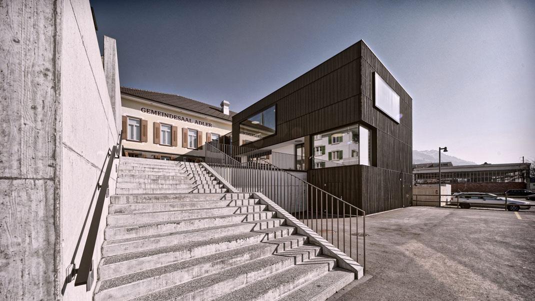 CAS GRUPPE AG: Fotodok Anbau Gemeindesaal Adler Schüpfheim/LU