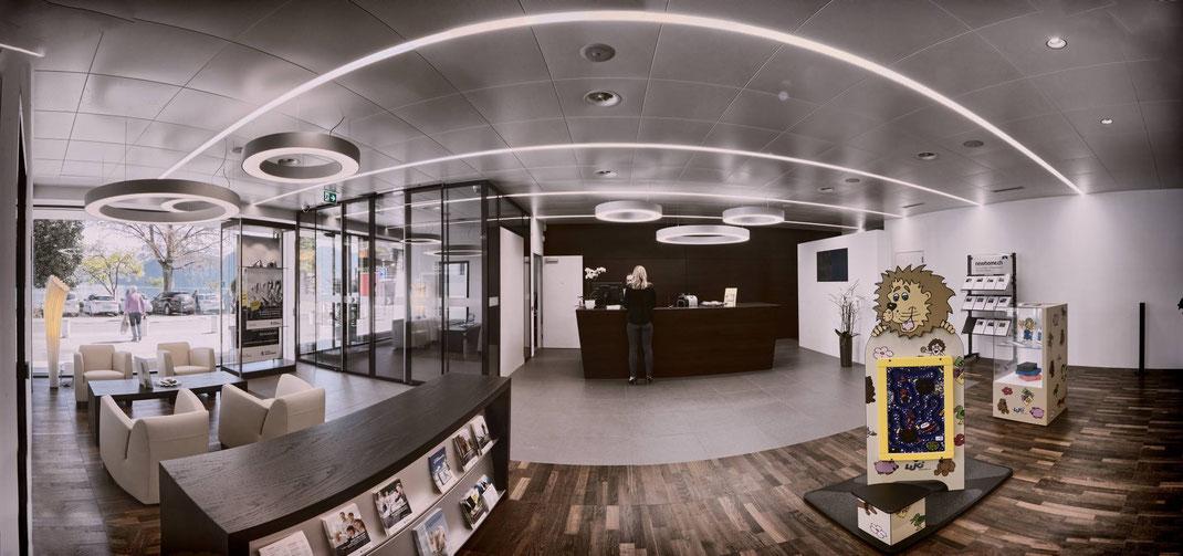 Luzerner Kantonalbank: Fotodok Umbau LUKB Zweigstelle Weggis/LU