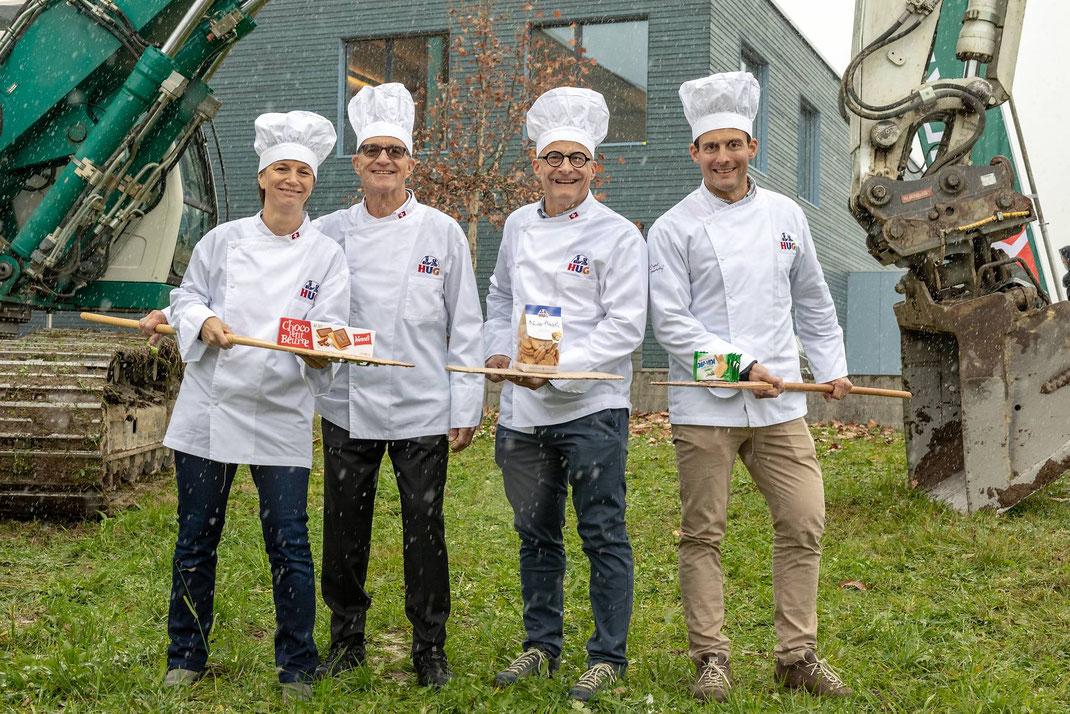Die HUG Backwarengruppe in Malters/Luzern hat vor einigen Monaten die Zusammenlegung der Produktionen von WERNLI in Trimbach und HUG in Malters angekündigt. Mit einem Spatenstich startet nun das 60Millionen-Generationprojekt.