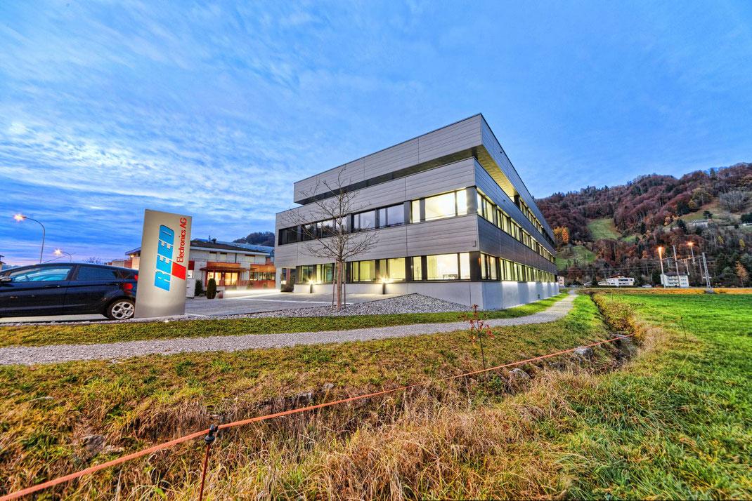 CAS GRUPPE AG: Neubau REED Electronics AG Schachen/LU