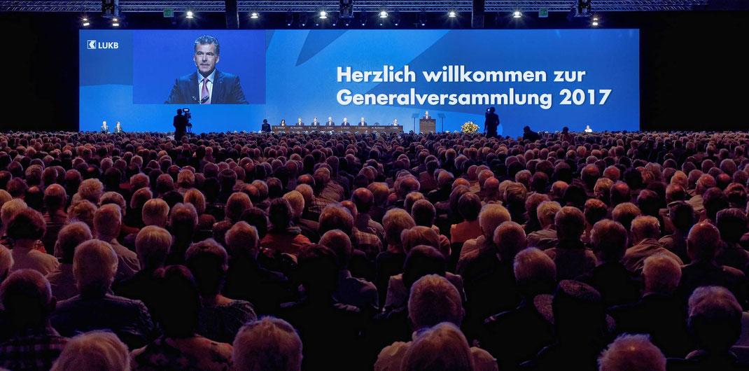 Fotodok Generalversammlung der Luzerner Kantonalbank