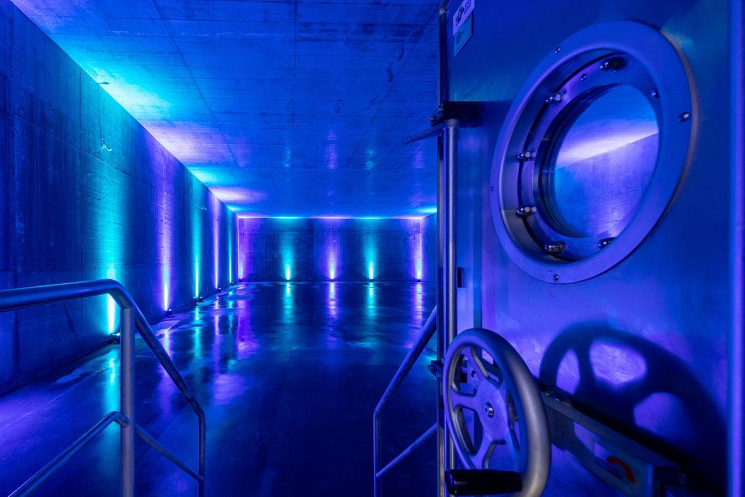 Nach drei Jahren Bauzeit eröffnet ewl energie wasser luzern im Oktober 2018 das neue Quellwasserwerk auf dem Sonnenberg. Das neue Werk gehört zu den modernsten Anlagen weltweit. Täglich können bis zu 30 Millionen Liter Wasser aufbereitet werden.