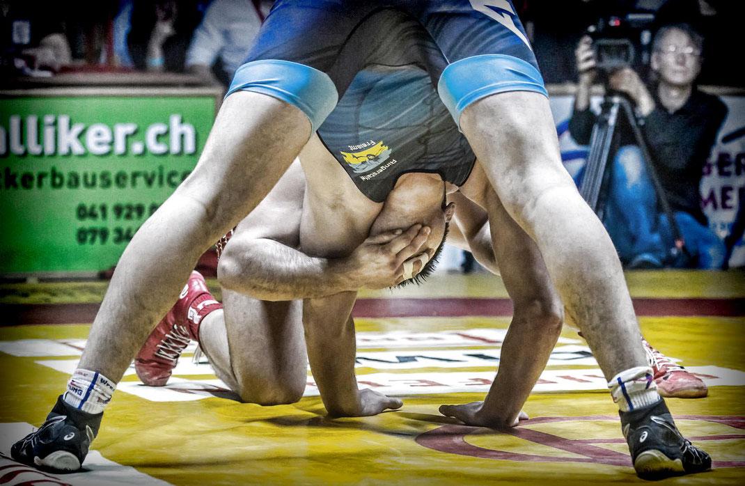 Gesichtsgymnastik hilft gegen Falten...