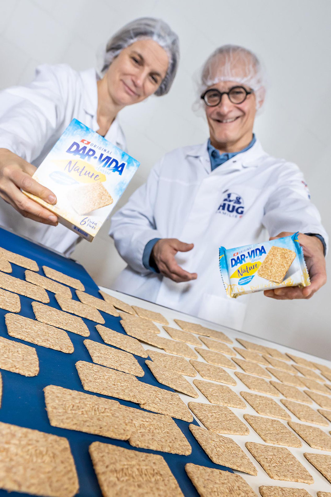 Anna und Andreas HUG sind stolz auf ihr beliebtes DAR-VIDA
