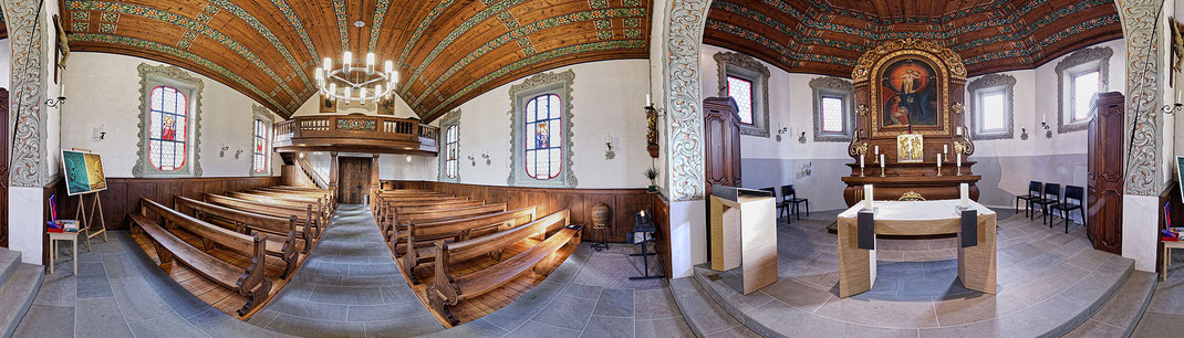 CERUTTI PARTNER ARCHITEKTEN AG: Sanierung Herz-Jesu-Kapelle Schachen/LU