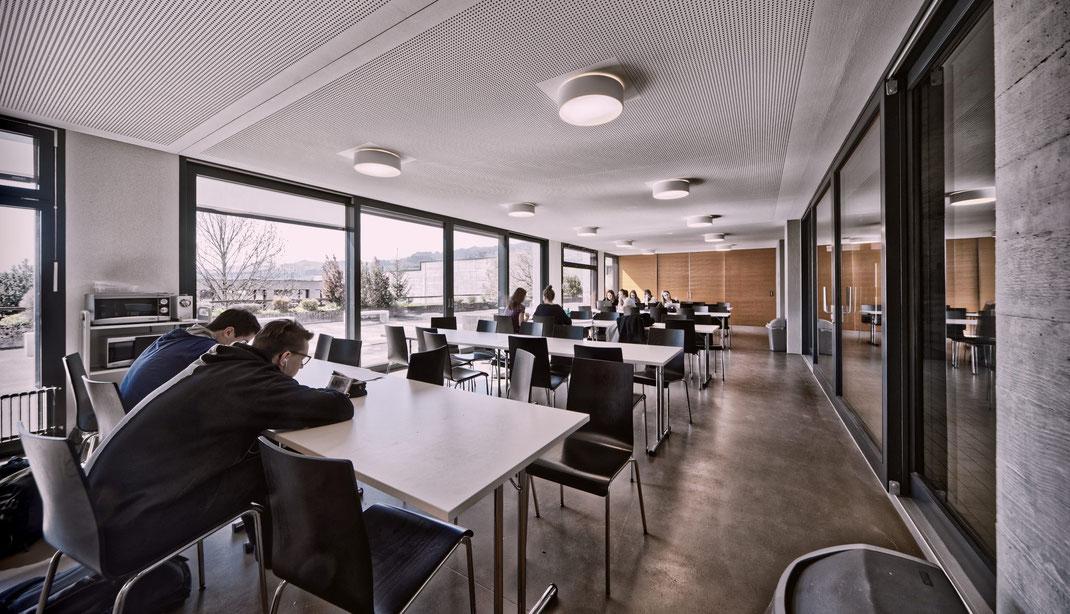 CAS GRUPPE AG: Fotodok Anbau Kantonsschule Schüpfheim/LU