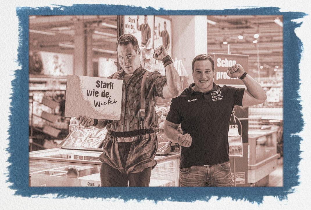 Joel meets Joel: Joel besucht sein Ebenbild im Migros Supermarkt Steinhausen/ZG: Interviews, Autogrammstunde und Verlosen der letzten ESAF-Tickets