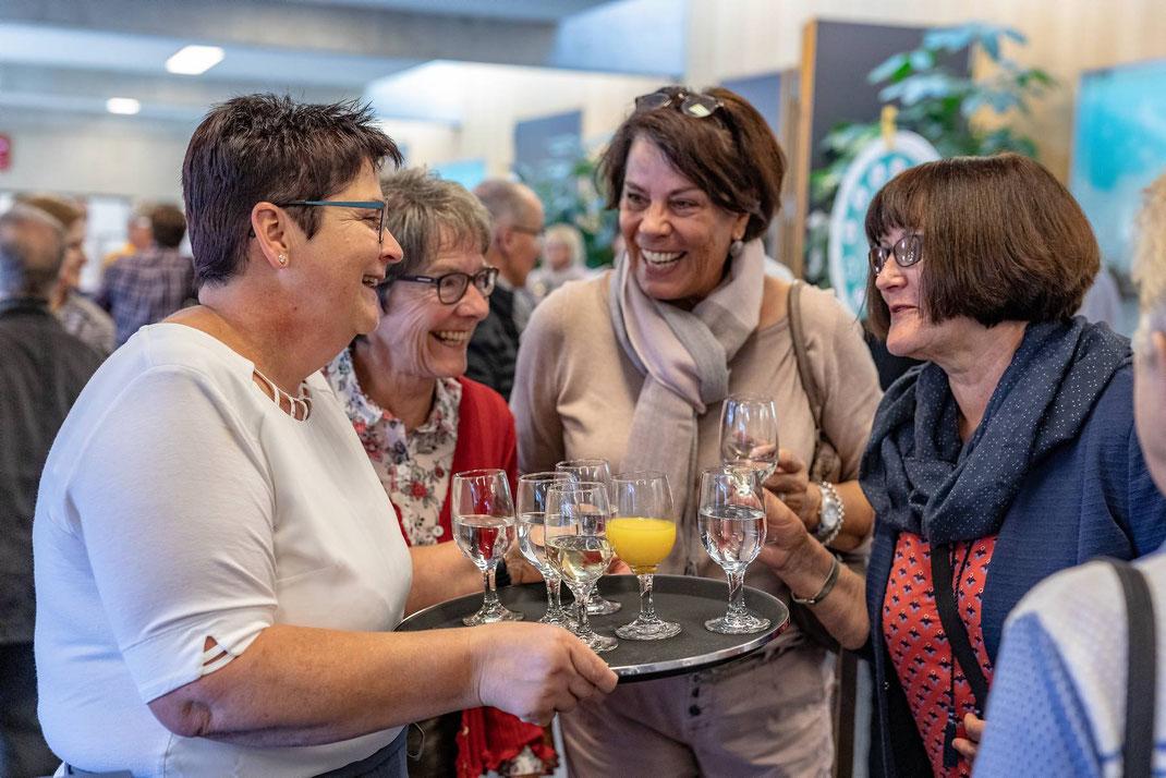 Fotodok Pensioniertenfeier 2018 der Migros Luzern GMLU im Kulturzentrum Braui Hochdorf.