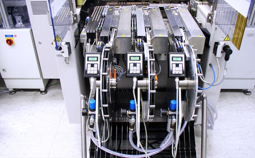 Automation technology Customised feeders