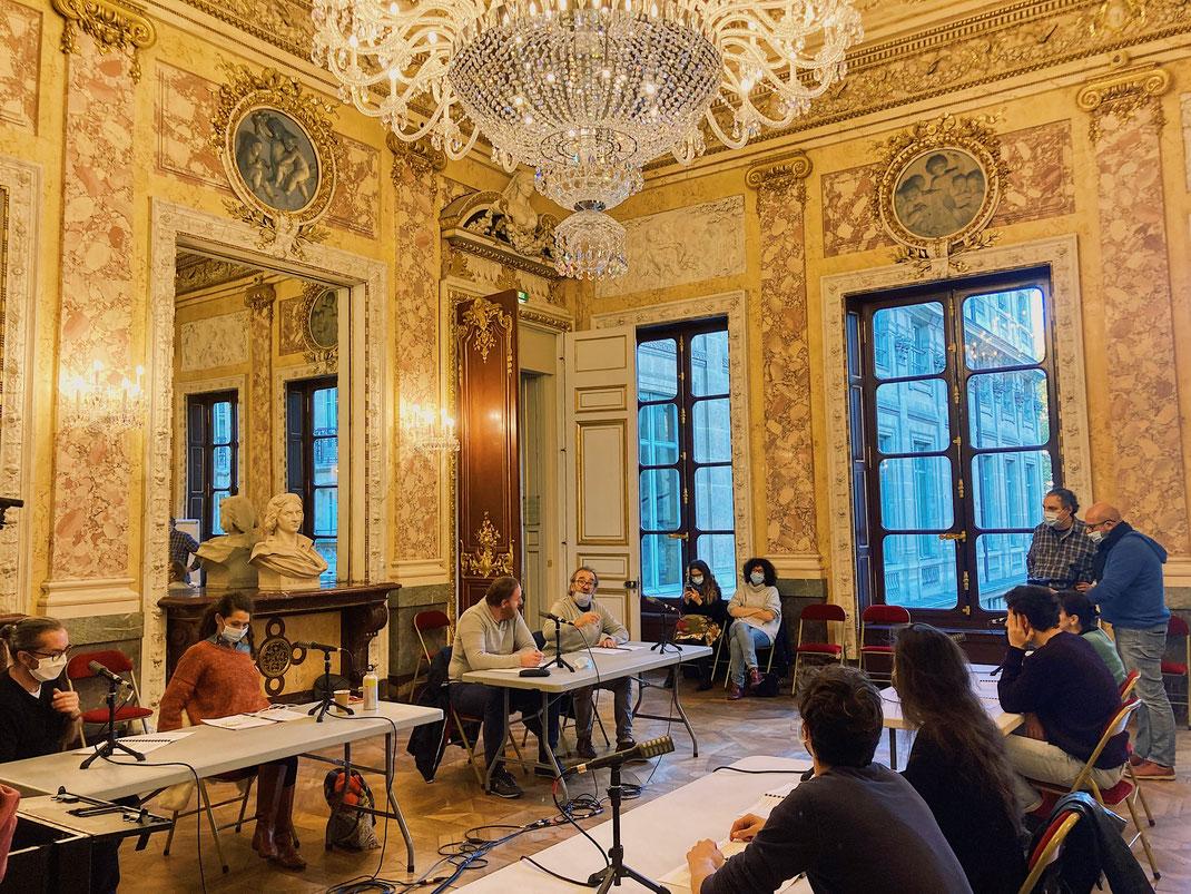 © RFI - Enregistrements des pièces à la Comédie-Française, janvier 2021