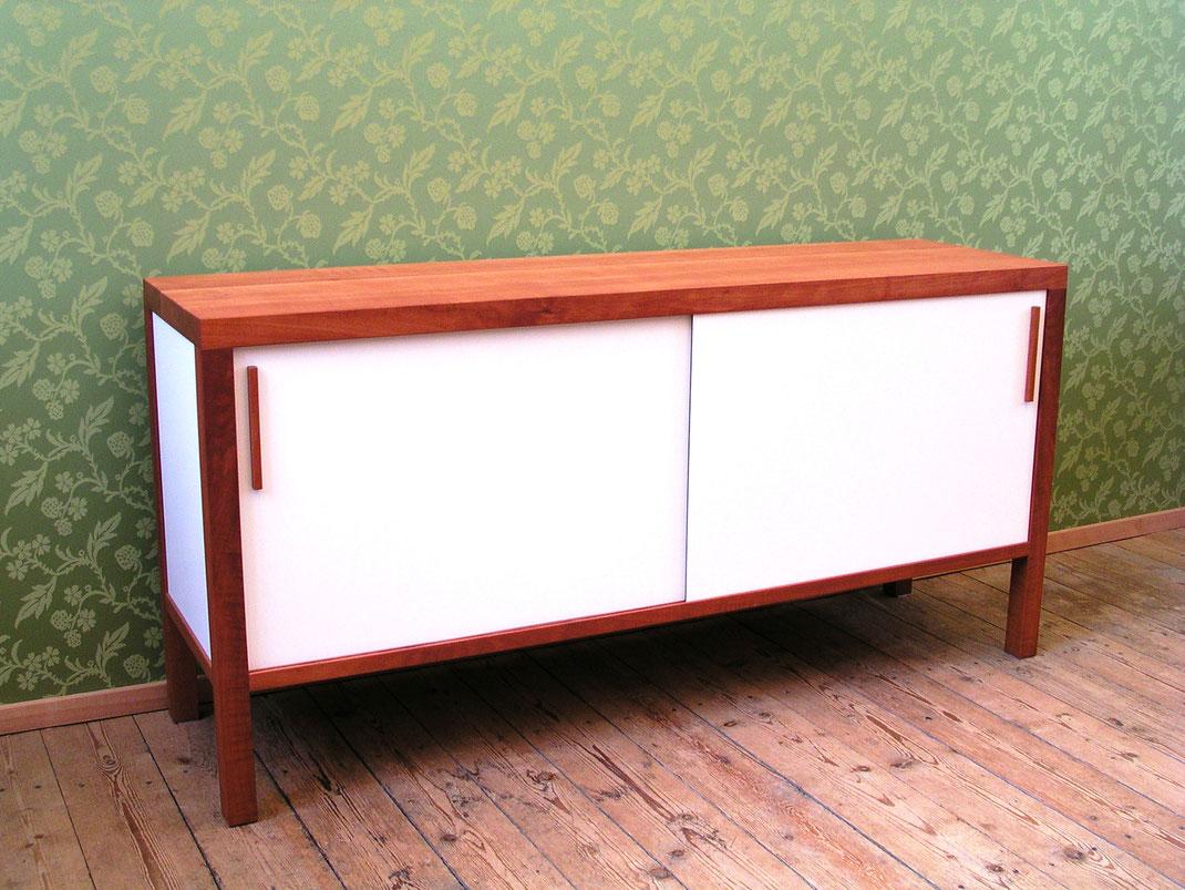 Sideboard k2 Birnbaum Massivholz