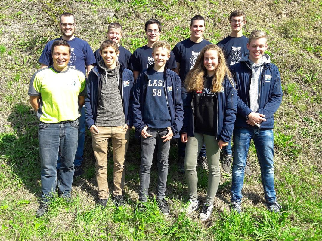Die stolzen Teilnehmer aus dem Kanton Uri