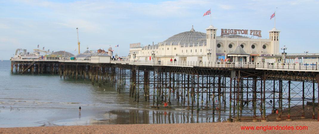 Sehenswürdigkeiten und Reisetipps Brighton, England: Brighton Pier