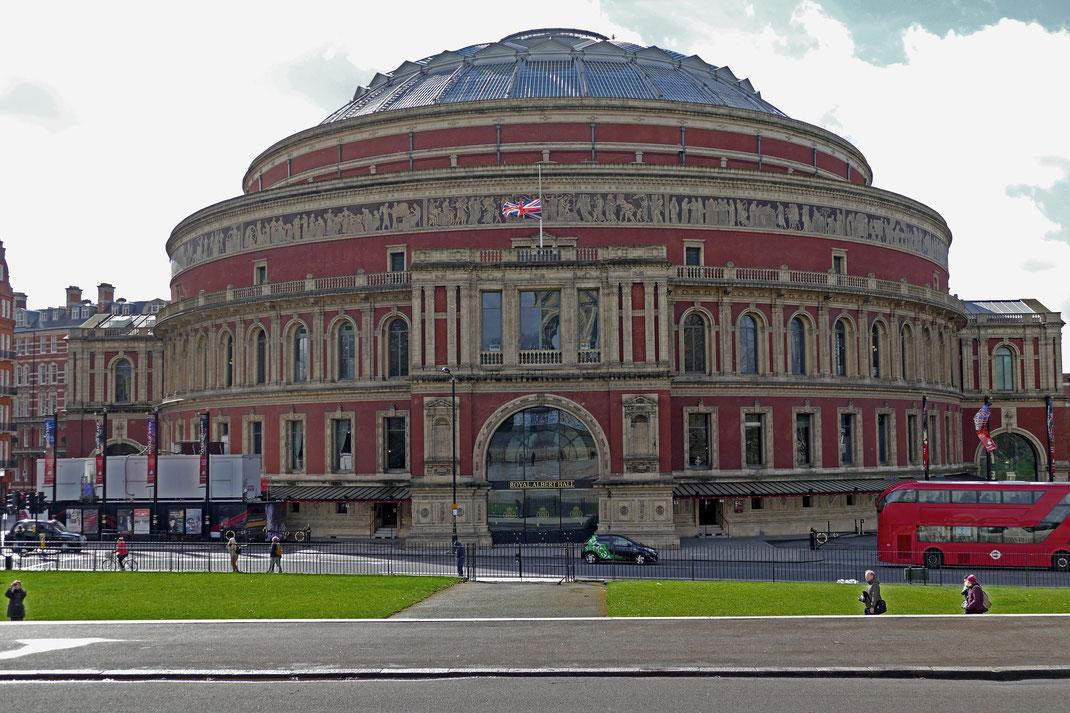 Die besten Tipps rund um Theater, Musical und klassische Konzerte in London: Royal Albert Hall