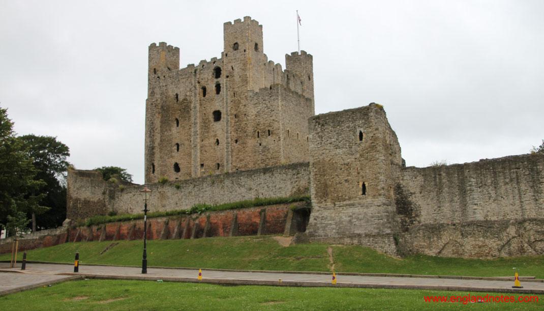 Sehenswürdigkeiten und Reisetipps Rochester, England: Rochester Castle
