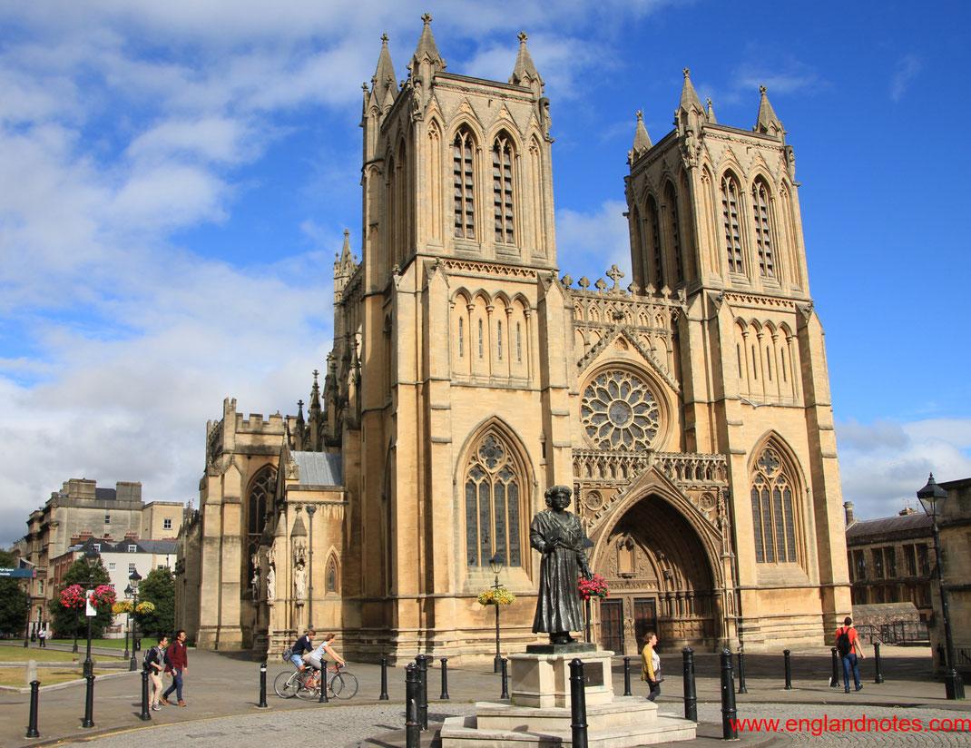 Sehenswürdigkeiten und Reisetipps für Bristol: Kathedrale von Bristol